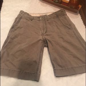 American Eagle Mens Shorts Longer Length  Size 33
